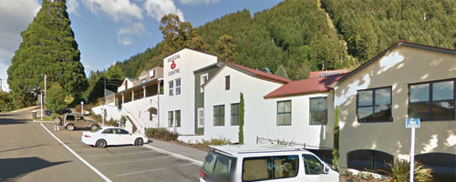 Queenstown Physiotherapy Clinic located above Queenstown Medical Centre